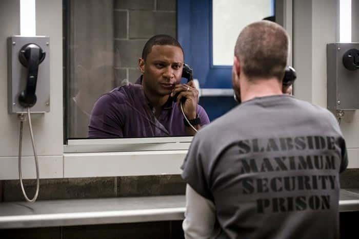 John Diggle y Oliver Queen en Arrow temporada 7