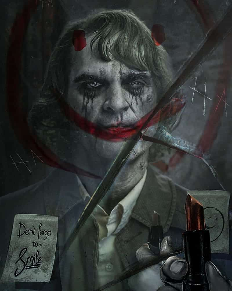 El Joker de Joaquin Phoenix (por BossLogic)
