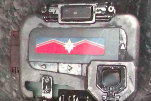llamada capitana marvel vengadores infinity war