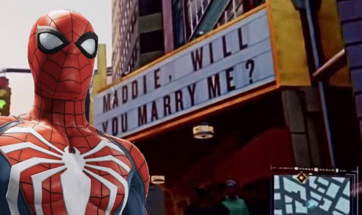 marry me sum fuk Spider-man PS4