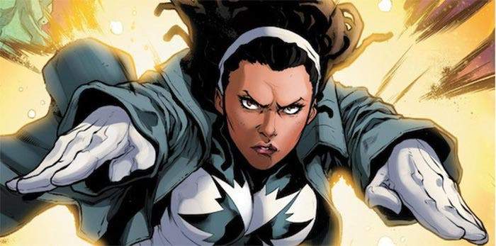 Monica Rambeau en Capitana Marvel (2019)