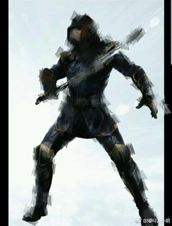 El look de Ronin en Vengadores 4