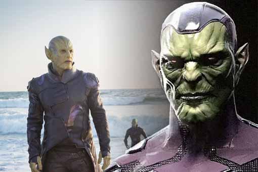 Capitana Marvel Skrulls