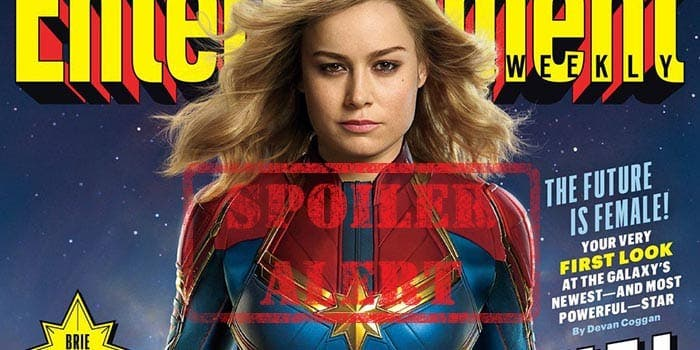 Spoilers de Capitana Marvel (2019) con Brie Larson