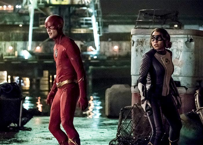 The Flash temporada 5: Barry Allen y Nora West-Allen