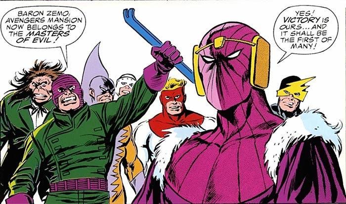 The Masters of Evil | 5 villanos que podrían ser el nuevo Thanos en la Fase 4 de Marvel