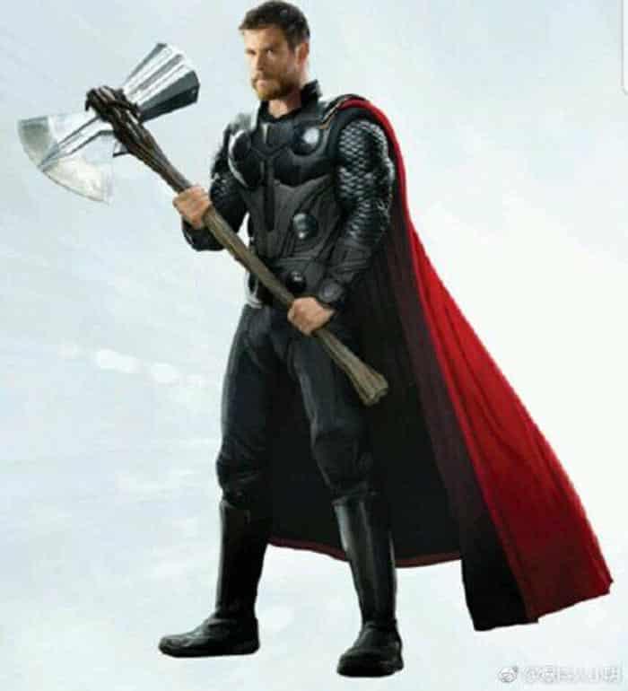 El look de Thor en Vengadores 4