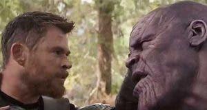 Thor vs Thanos Vengadores 4