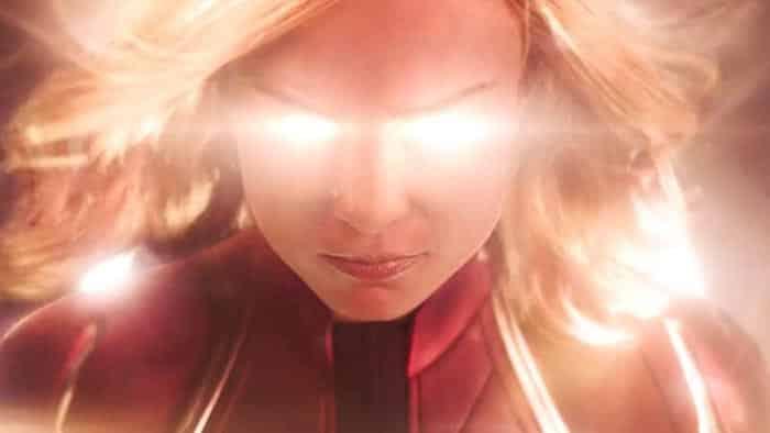 El poder de Carol Danvers (Brie Larson) en el tráiler de Capitana Marvel (2019)