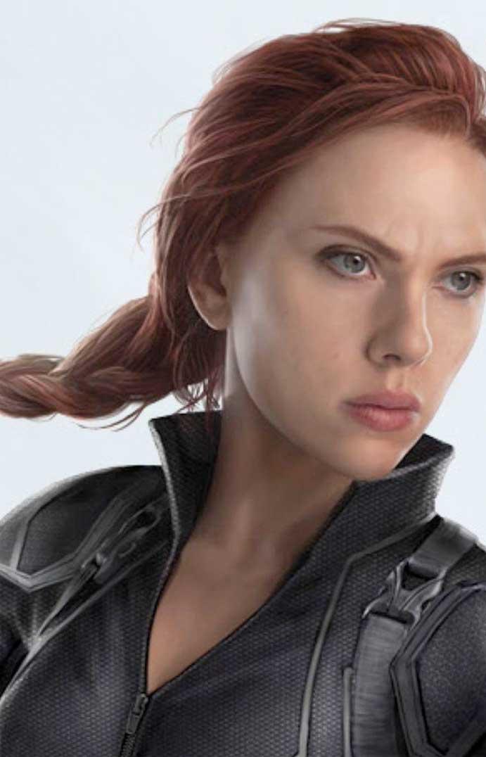 viuda negra nuevo look vengadores 4 Scarlett Johansson