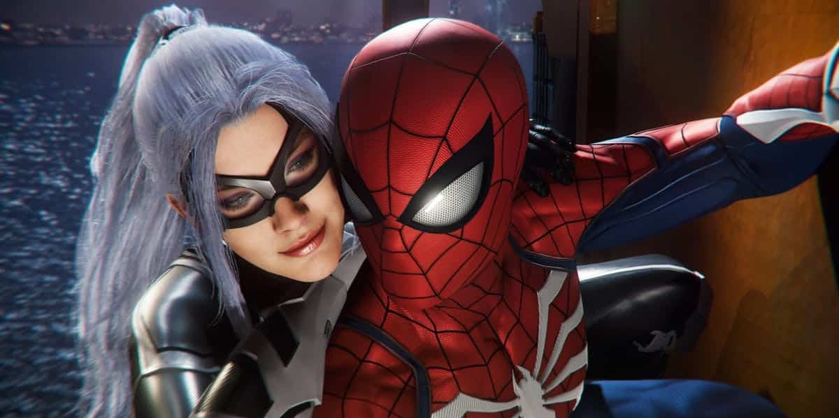 Black cat spider-man ps4