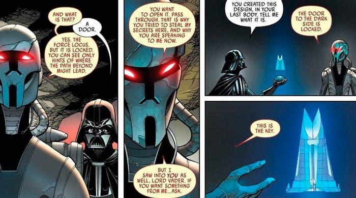 Darth vader comics