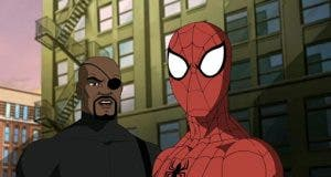 Nick Fury y Spider-man
