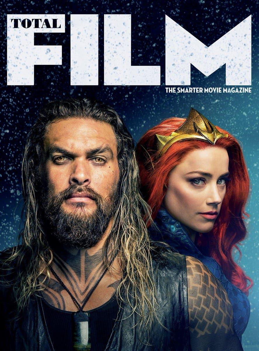 Portada Total Film Aquaman