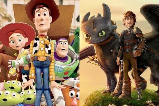 Toy Story 4 y Como entrenar a tu dragón 3