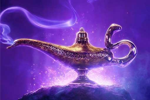 tráiler de Aladdin poster