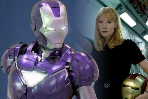 Vengadores 4: Fan Art de la armadura de Pepper Potts en Marvel Studios