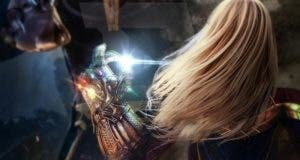 Capitana Marvel vs Thanos en Vengadores 4