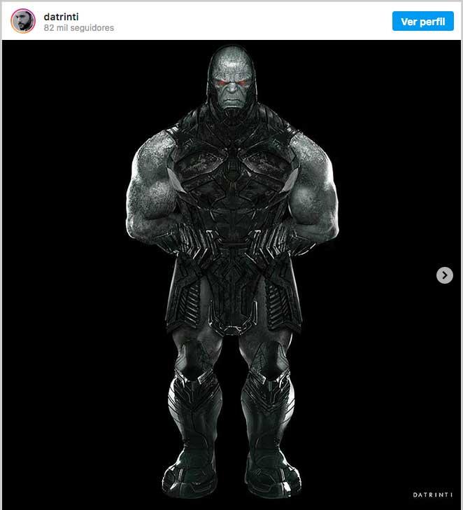 Así habría sido Darkseid en Liga de la Justicia de Zack Snyder