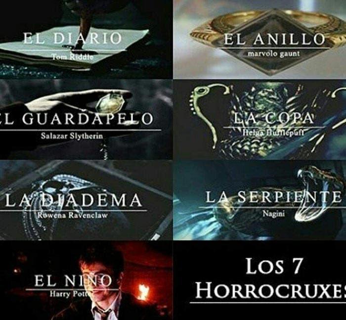Los Horrocruxes de Harry Potter