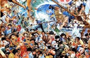 Imagen por los 40 años de Shounen Jump del creador de One Punch Man