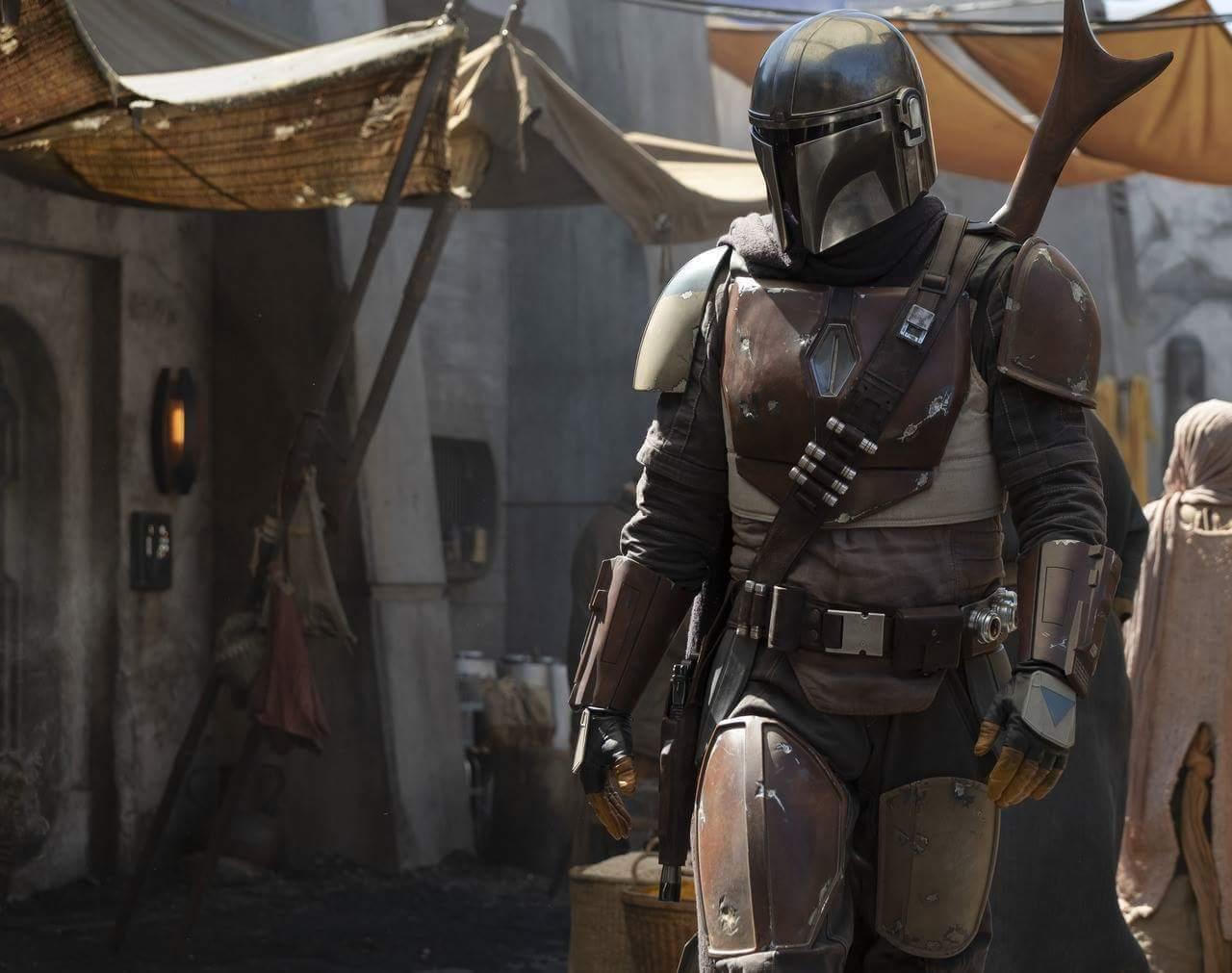 Imagen oficial de El Mandaloriano (Star Wars)