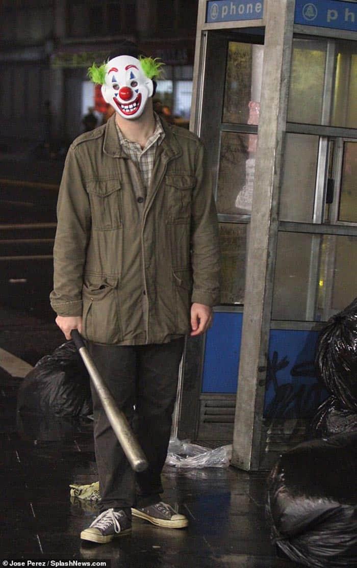 Joker con un bate