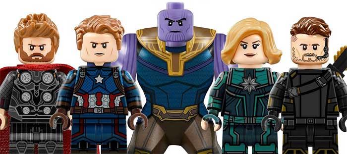 LEGO hace un nuevo SPOILER de Vengadores 4