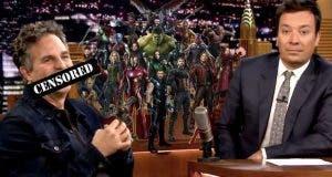 Mark Ruffalo fue despedido de Marvel por hacer spoiler del título de Vengadores 4 (2019)