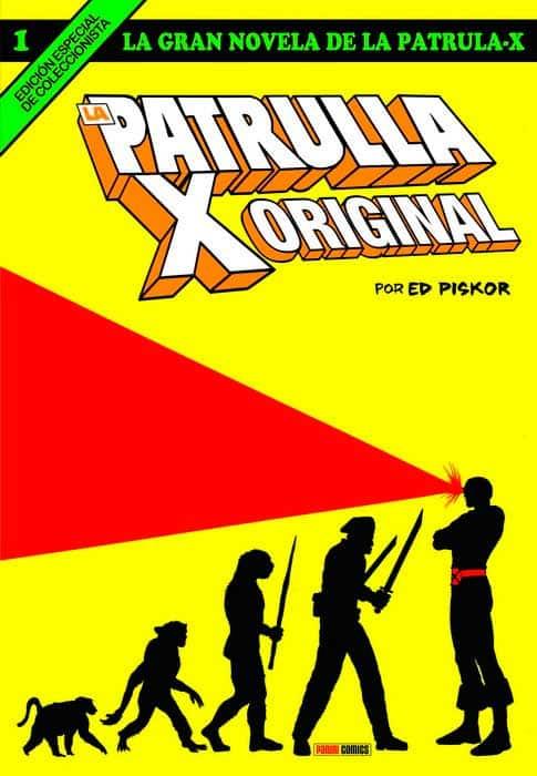novela la patrulla x original