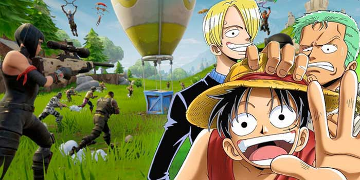 One Piece y Fortnite