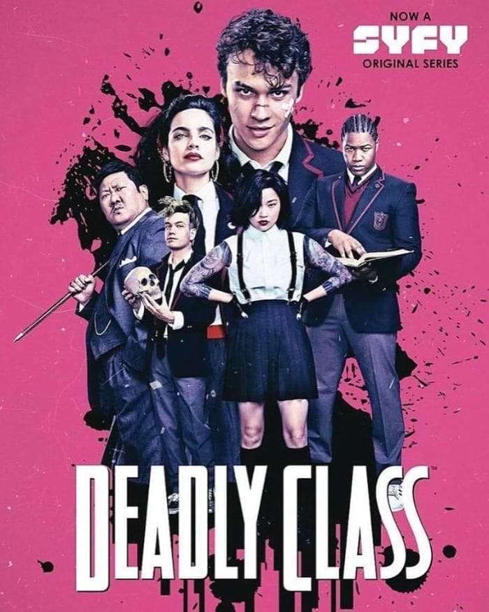 poster de deadly Class
