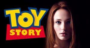El tatuaje de Sophie Turner (Juego de Tronos) sobre Toy Story