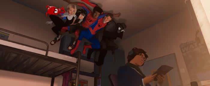 Así son de los 40 primeros minutos de Spider-Man: Un Nuevo Universo