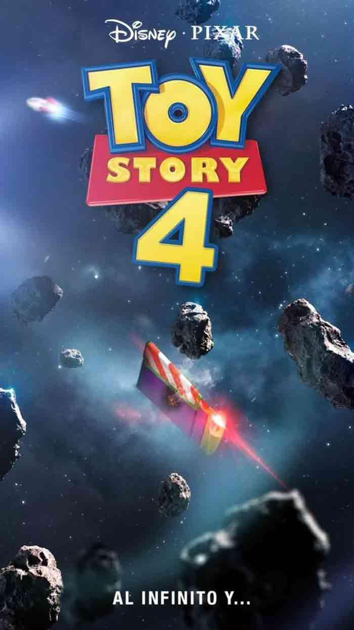 Póster de Toy Story 4 (2019)