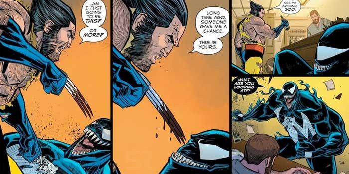 Lobezno (Wolverine) es la verdadera razón por la que Venom es un héroe