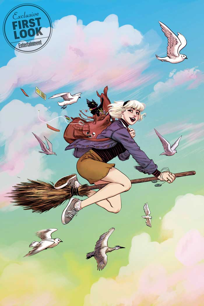 Sabrina the Teenage Witch #1 portada