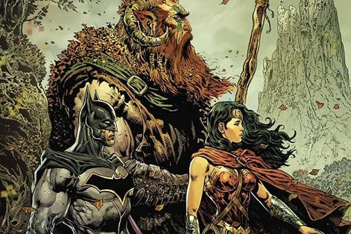 The Brave and the Bold batman y Wonder Woman dest