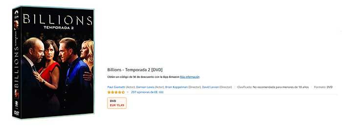 billions amazon