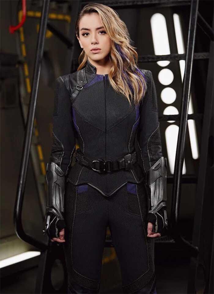 Chloe Bennet cambia de look para Agentes de SHIELD temporada 6