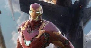 concept art Iron Man Vengadores: infinity war