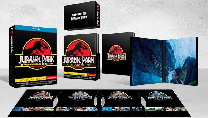 edición 25 aniversario jurassic park