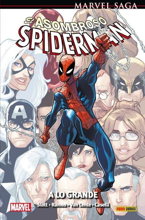 El Asombroso Spiderman: A lo grande (Marvel Saga)