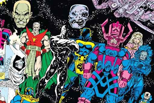 entidades cosmicas de marvel