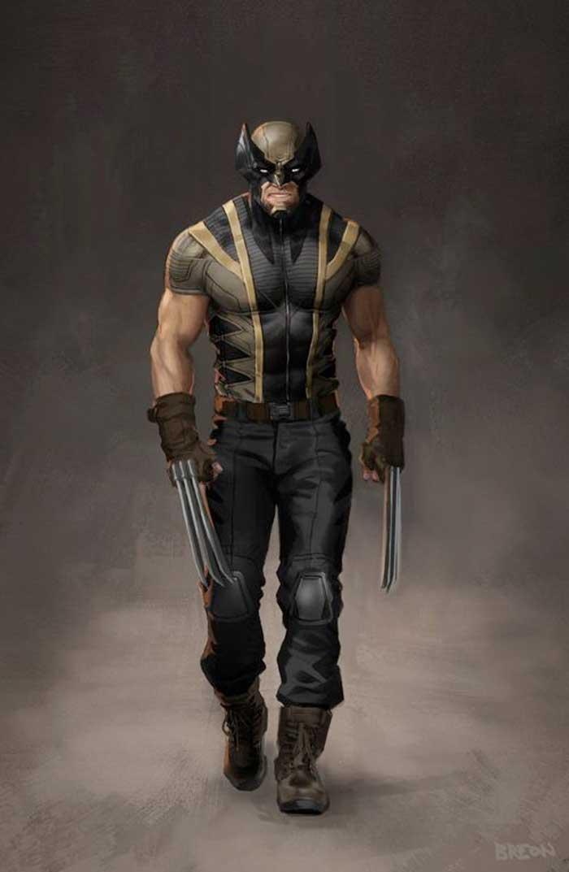 Increíble Fan Art de como sería Wolverine (Lobezno) en Marvel Studios