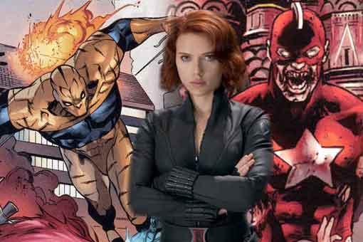 Filtran el villano de Marvel de la película de Viuda Negra