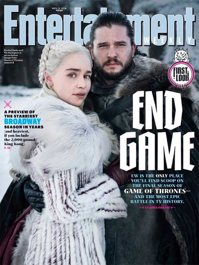 Juego de Tronos temporada 8: Imagen de Jon Snow y Daenerys Targaryen juntos