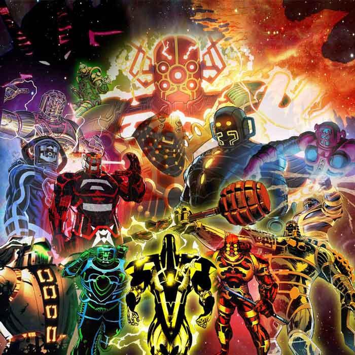 Los celestiales de Marvel