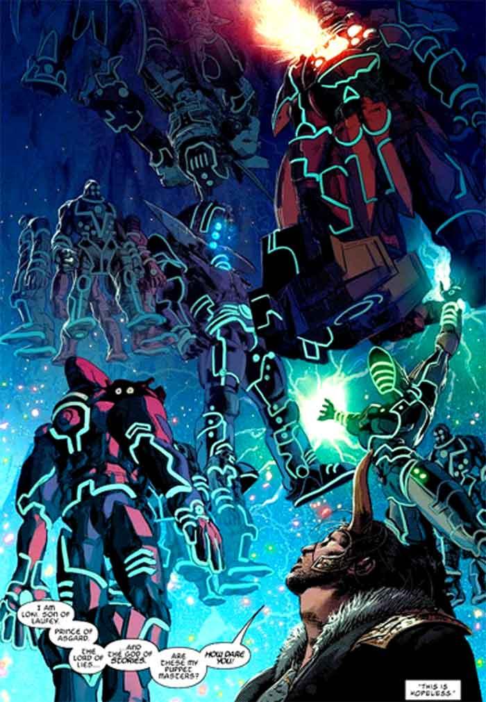 Marvel revela el verdadero origen de las Gemas del Infinito
