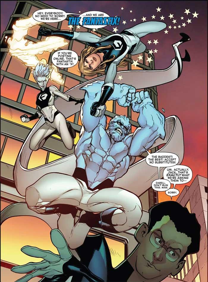 Marvel remplaza a Los Cuatro Fantásticos por su versión malvada